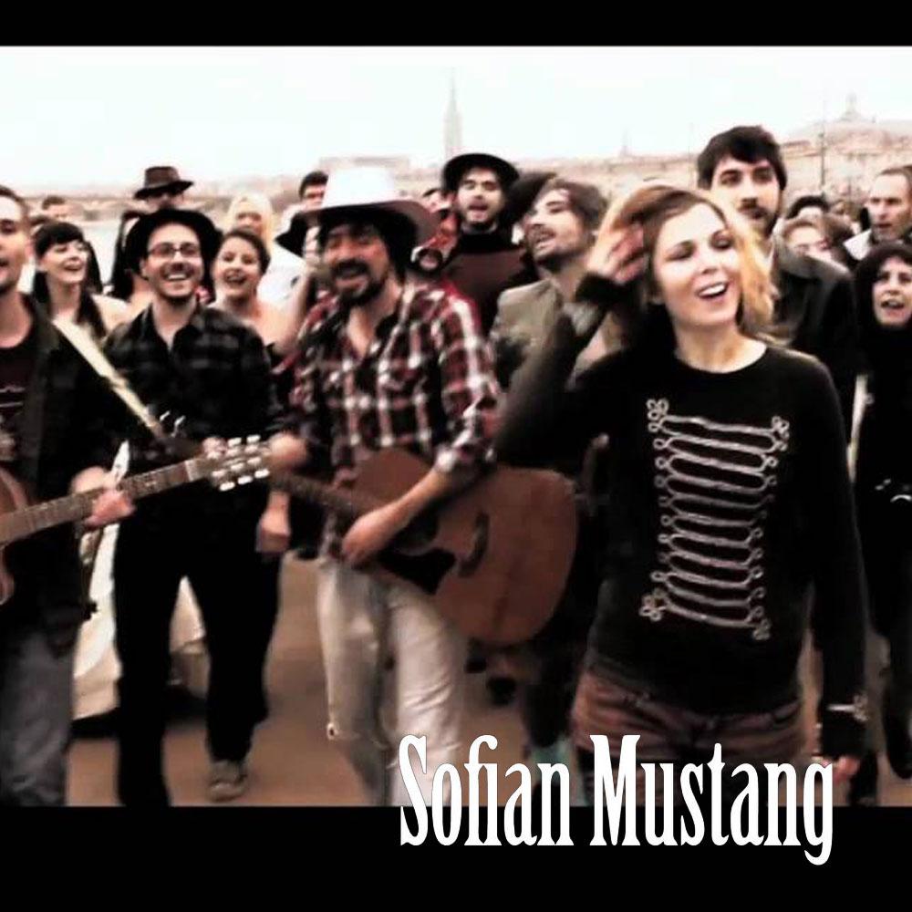 Saalekiez und Sofian Mustang