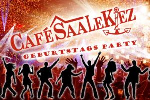 Kiezgeburtstag im Café Saalekiez
