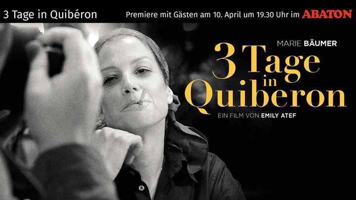 3 Tage Quiberon im Saalekiez zum Kino Sommer in der Felsenbühne in Brachwitz