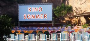 Kino Sommer Felsenbühne Saalekiez mit Luchs-Kino